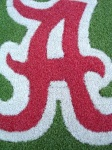 Alabama Crimson Tide 1/2 Inch Pile Turf Rug