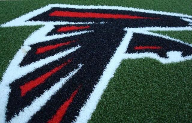 Atlanta Falcons 1/2 Inch Pile Turf Rug