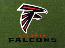 Atlanta Falcons 1/2 inch Turf