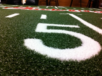 Chick-Fil-A 10x10 On 1/2 Inch Turf