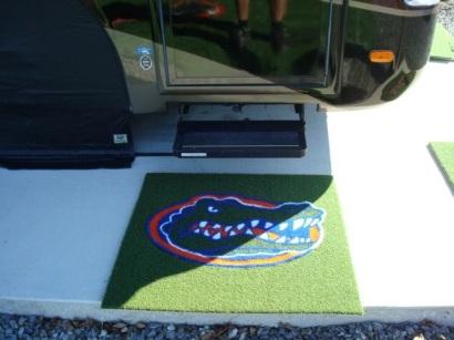 Florida Gators 1/2 Inch Pile Turf Rug