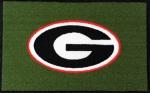 Georgia Bulldogs 1/2 Inch Pile Turf Rug