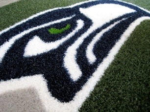 Seattle Seahawks 1/2 Inch