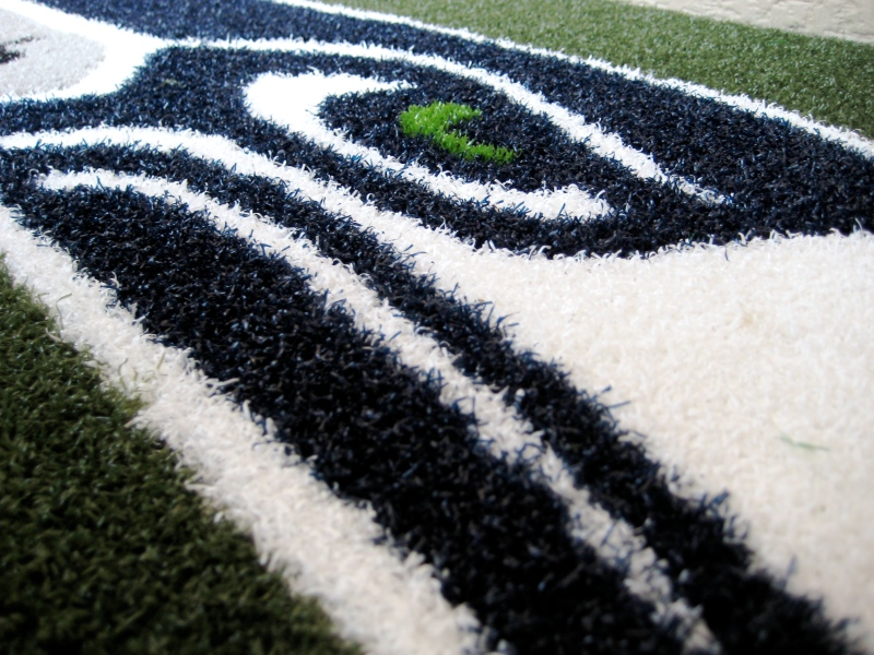 Seattle Seahawks 1/2 inch Turf