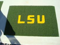 LSU 3 x 2.5 Doormat