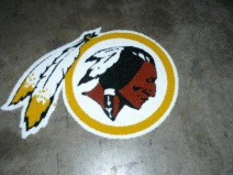 Washington Redskins 1/2 Inch Pile Turf Rug