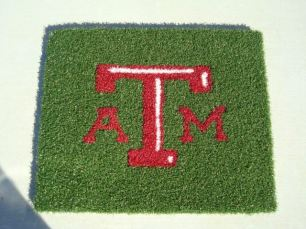 Texas A&M 4 x 4 Doormat