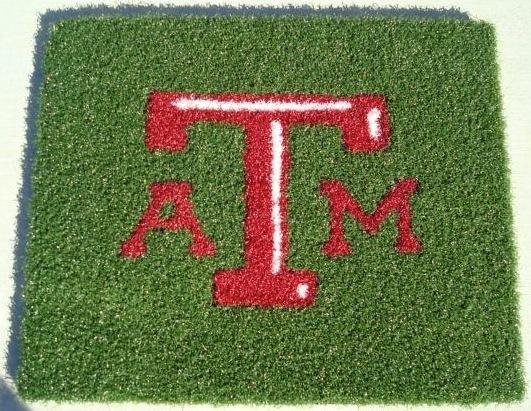 Texas A&M Aggies 1/2 Inch Pile Turf Rug