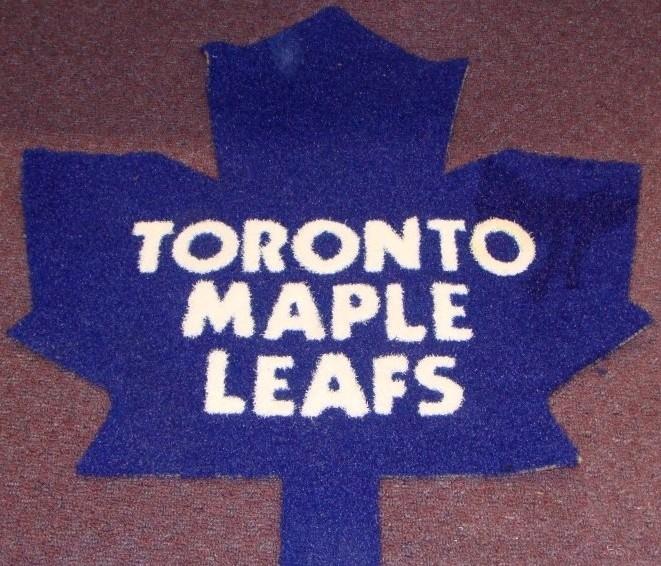 Toronto Maple Leafs 1/2 Inch Pile Turf Rug