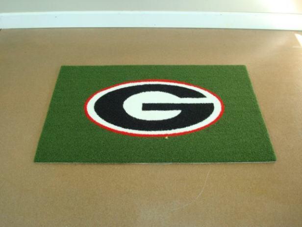 UGA Doormat 3 x 5