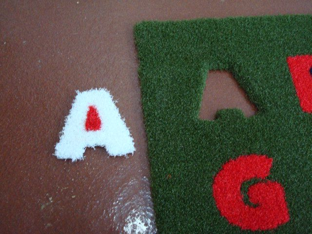 Turf Cutouts ABC's & Numbers