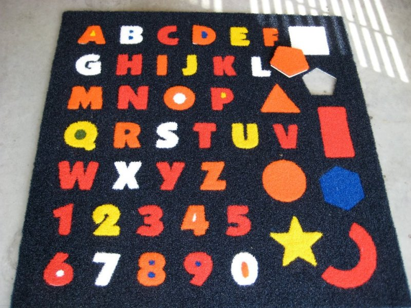 Turf Cutouts ABC's & Numbers