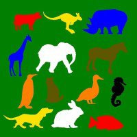 Animal Turf Cutouts