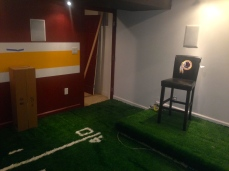 Redskins Man Cave Theater